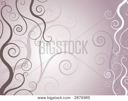 dekorative Strudel