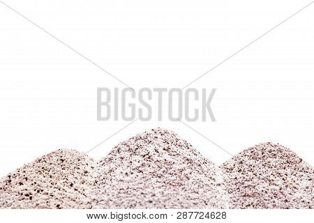 Instant Coffee, Three In One Powder Against White Background