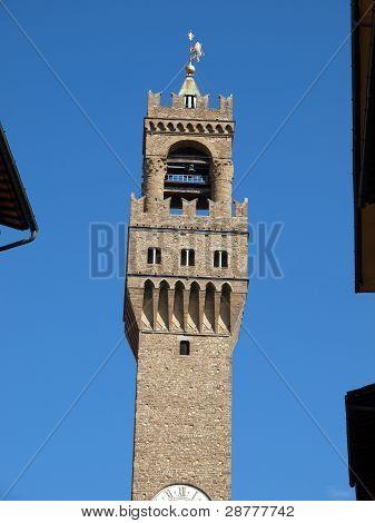 Florence - view of Palazzo Vecchio tuscany Italy
