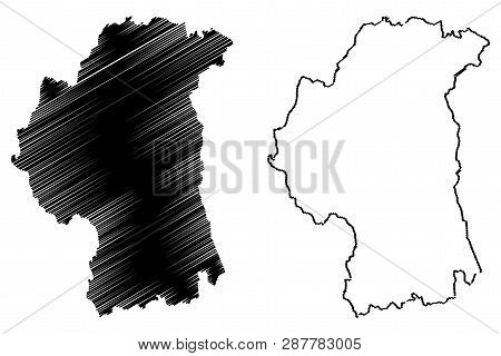 Map Of Northern Ireland Counties.County Armagh United Vector Photo Free Trial Bigstock