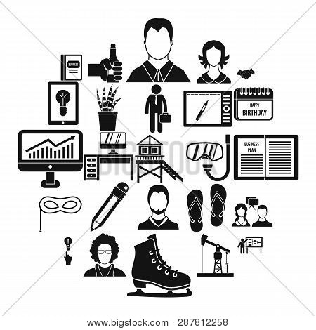 Joint Biz Icons Set. Simple Set Of 25 Joint Biz Icons For Web Isolated On White Background