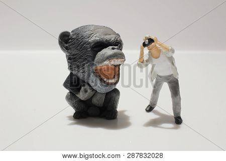 The Mini Fun Of Figure In Miniature World