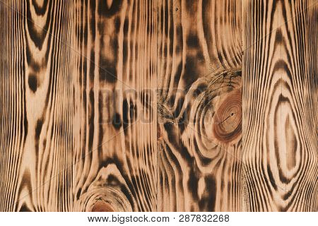 Wood Surface. Wood Brown Oak Natural Pattern Background Texture. Dark Wooden Texture. Old Wooden Boa