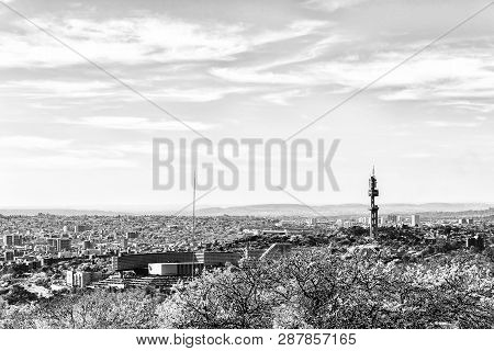 Pretoria, South Africa, July 31, 2018: A Neastern View Of Pretoria As Seen From The Historic Fort Sc