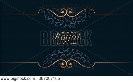 Royal Mandala Background In Islamic Style Vector Design Illustration