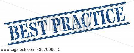 Best Practice Stamp. Best Practice Square Grunge Sign. Best Practice