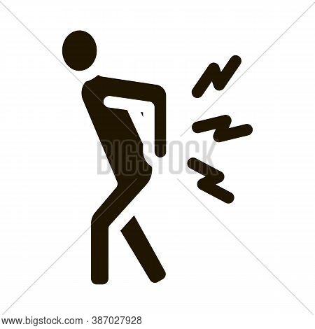 Arthritis Glyph Icon Vector. Arthritis Sign. Isolated Symbol Illustration