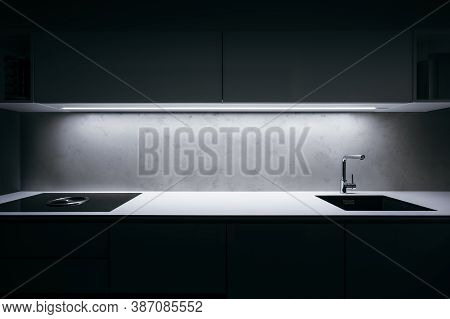Apartment, Appliances, Architecture, Black, Cabinet, Clean, Concrete, Contemporary, Cooker Hood, Coo