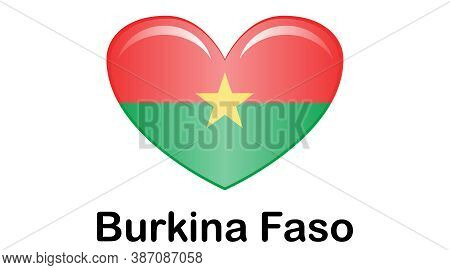 Burkina Faso Flag, Official Colors And Proportion Correctly. National Burkina Faso Flag.