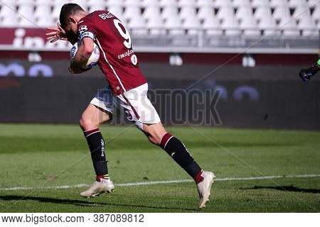 Torino, Italy. 26th September 2020. Andrea Belotti Of Torino Fc During The The Serie A Match  Betwee