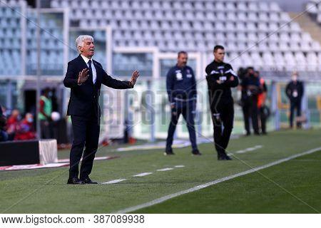 Torino, Italy. 26th September 2020. Gian Piero Gasperini , Head Coach Atalanta Bergamasca Calcio,  D