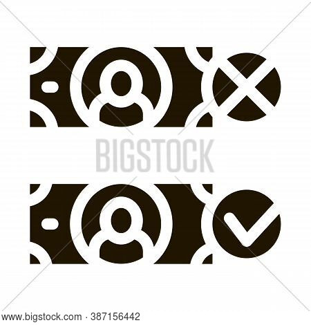 Money Currency Comparisons Glyph Icon Vector. Money Currency Comparisons Sign. Isolated Symbol Illus