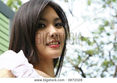 Beautiful Model Smile At You