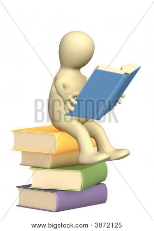 3D Puppet, Reading The Book