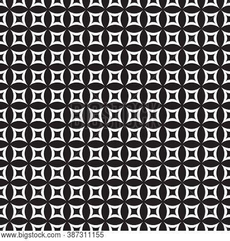 Seamless Vintage Circle Pattern1
