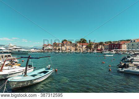 Bay Of Sutivan Town On The Island Of Brac, Croatia.