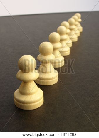 Pawns Marching
