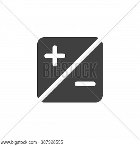 Exposure Up And Down Vector Icon. Filled Flat Sign For Mobile Concept And Web Design. Exposure Butto