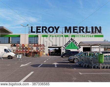 Bucharest, Romania - October 22, 2015. Leroy Merlin Store In Bucharest. Leroy Merlin Is A French Hom