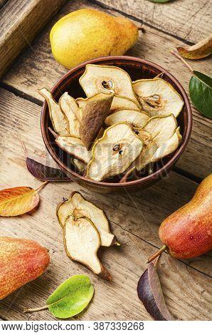 Dry Pear Fruit