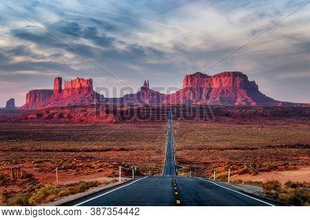 Usa Arizona Forrest Gump Hill, Arizona, Usa
