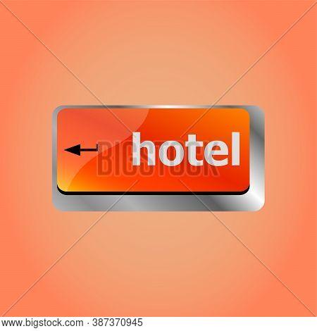 Hotel Keyboard Key In Place Of Enter Key