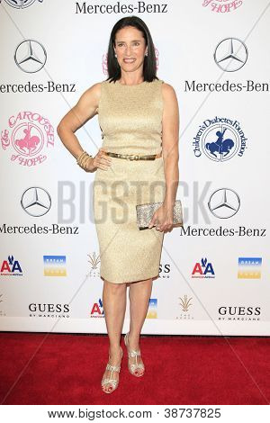 BEVERLY HILLS - OCT 20:  Mimi Rogers at the 26th Carousel Of Hope Ball at The Beverly Hilton Hotel on October 20, 2012 in Beverly Hills, California