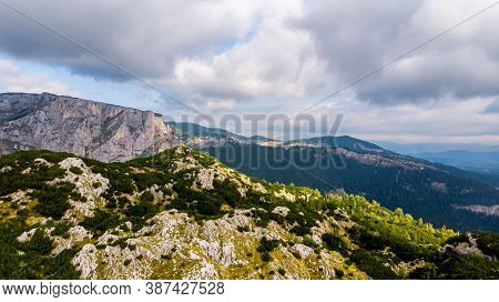 National Park Located On The North Of Montenegro. In Durmitor National Park Is A Highest Mountain In