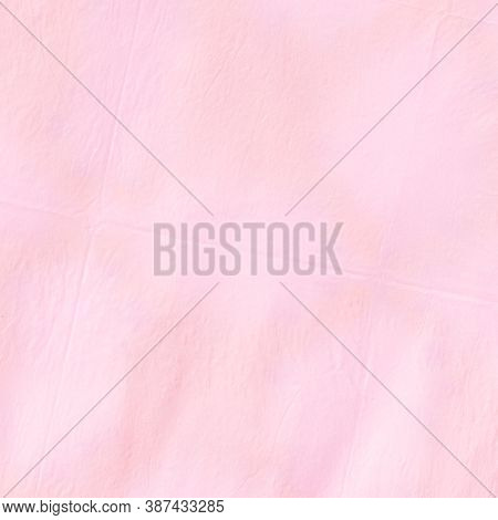 Ink Dotted Stripes. Blurred Romantic Wallpaper. Pink Paint Stripes. Rose Gradient. Elegant Watercolo