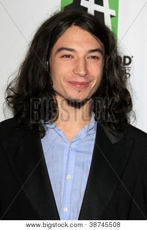 LOS ANGELES - OCT 22:  Ezra Miller arrives at  the 2012 Hollywood Film Festival Gala at Beverly Hilton Hotel on October 22, 2012 in Beverly Hills, CA