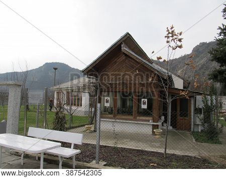 Rupite, Bulgaria - January, 2011: The Cottage Of The Famous Prophet And Clairvoyant Baba Vanga In Ru