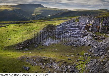 One Of The Many Limestone Quarries In Penwyllt (wild Headland) In The Upper Swansea Valley, Popular