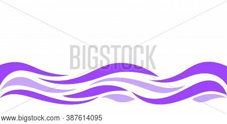 Wave Form Graphic Purple Color, Water Waves Purple For Background, Purple Graphic Ripples Pattern Fo