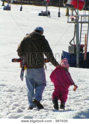 Father And Resistant Child