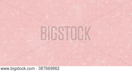 Pink Paper Texture Background, Kraft Paper Horizontal With Unique Design Of Paper, Soft Natural Pape