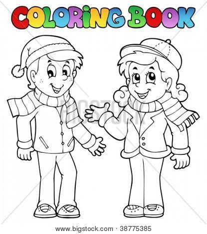 Vector y foto Libro Para Colorear (prueba gratis) | Bigstock