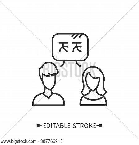 Language Practice Icon. Speaking Practice. Foreign Languages Learning Methods And Translation Educat