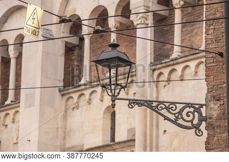 Architecture Detail Of Modena's Duomo In Italy 4