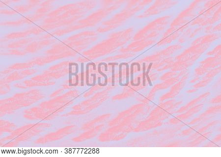 Light Pink Patchy Background With Pink Spots