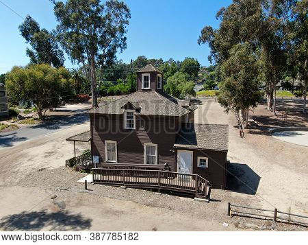 The Olivenhain Town Meeting Hall Is A Community Meeting House Located In Olivenhain, California. The