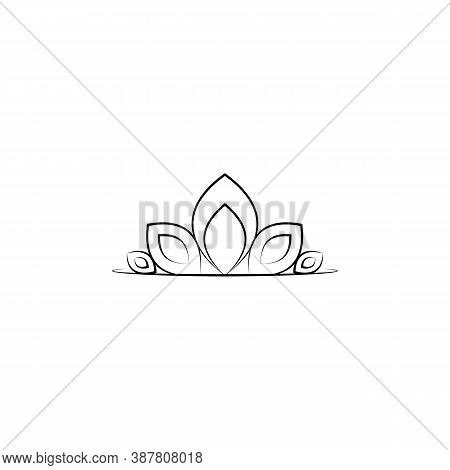 Diadem, Princess Line Icon. Signs And Symbols Can Be Used For Web, Logo, Mobile App, Ui, Ux