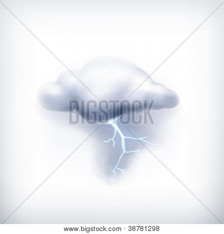 Storm, vector icon