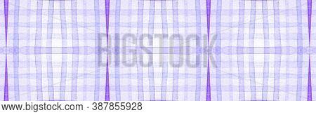 White Flannel Checks. Watercolour Square Texture. Classic Textured Wallpaper. Seamless Flannel Check