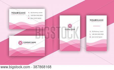 Business card . Business card design . Pink color business card ideas . Business cards Template . Modern Business card template design . editable business card design . double sided business card template . new business cards design collection