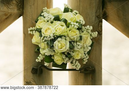Wedding Bouquet. The Most Important Bouquet At The Wedding Is The Bride's Bouquet.