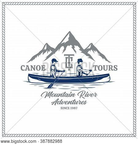 Vector Canoe Tours Badge