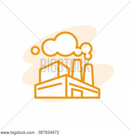 Illustration Vector Graphic Of Factory Icon Template
