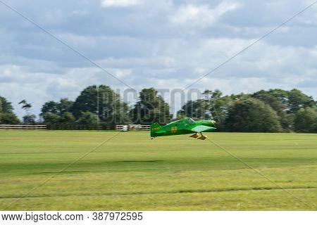 Old Warden, Bedfordshire, Uk , October 6, 2019. Cassutt Racer Iiim. Soft Focus.race Day At Shuttlewo