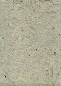 Detail of the surface of the handmade paper with remains of plants - natural product poster
