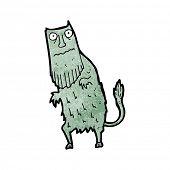 magical creature cartoon poster
